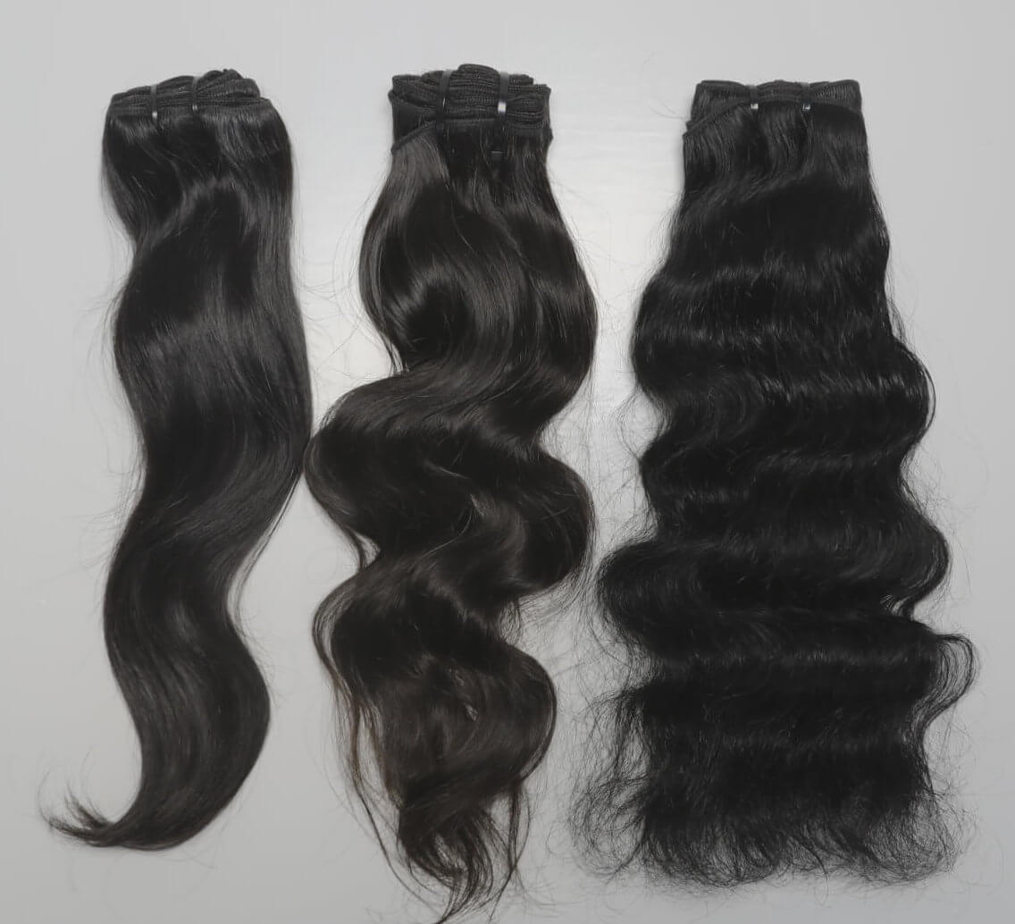 Raw & Rare Indian Temple hair