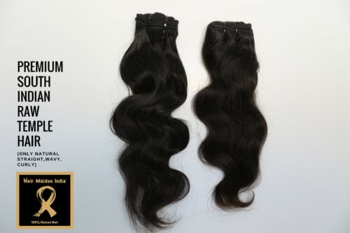 PREMIUM SOUTH INDIAN RAW TEMPLE HAIR 1