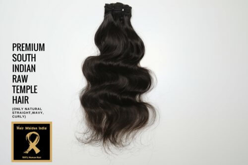 PREMIUM SOUTH INDIAN RAW TEMPLE HAIR 2