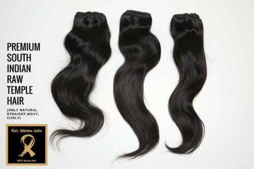 PREMIUM SOUTH INDIAN RAW TEMPLE HAIR 3