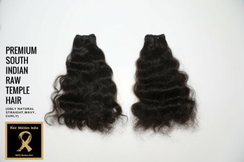 PREMIUM SOUTH INDIAN RAW TEMPLE HAIR 4