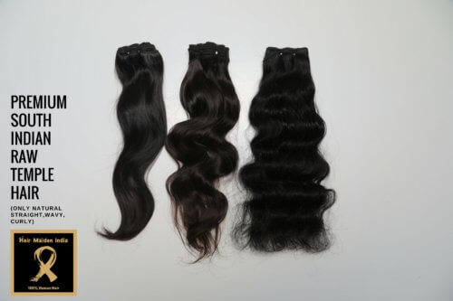 PREMIUM SOUTH INDIAN RAW TEMPLE HAIR 6