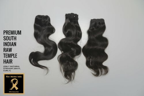 PREMIUM SOUTH INDIAN RAW TEMPLE HAIR 7