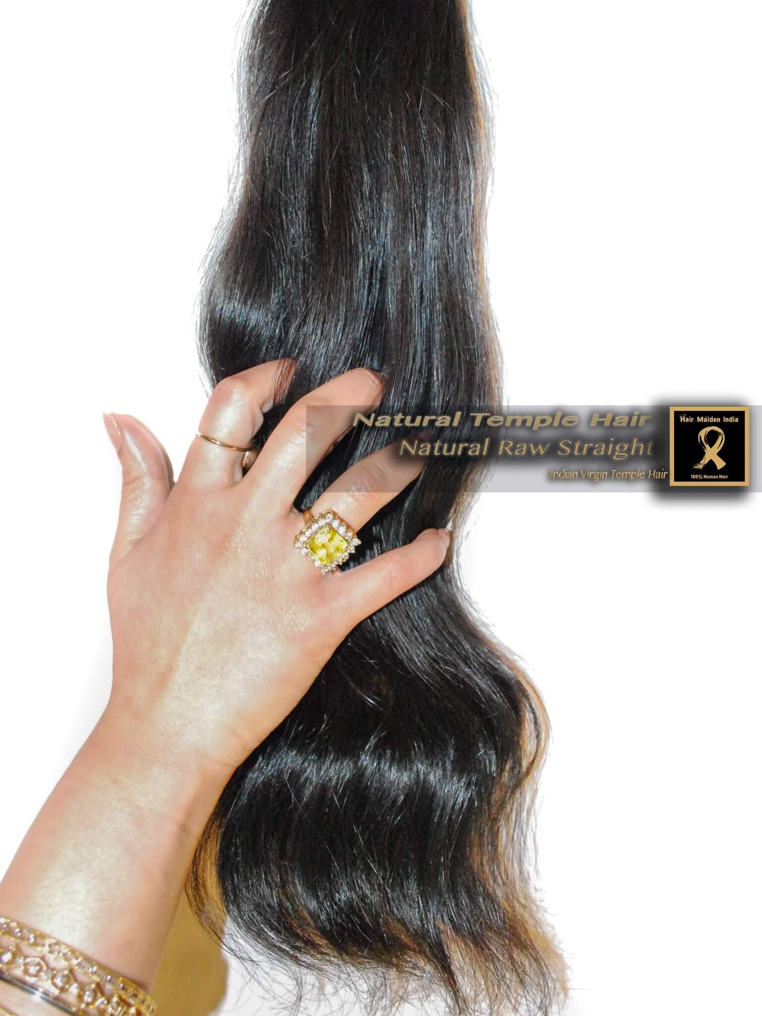 premium temple hair
