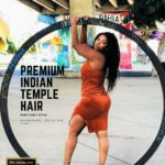 curly human hair wholesale Indian hair extensions