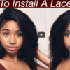 How to install a lace frontal