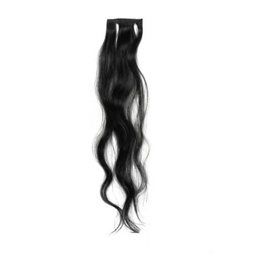 body wave hair sample